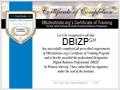 DBIZ Certificate