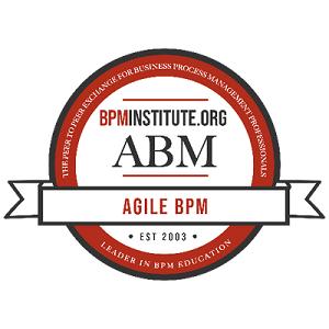 Agile Methodology for BPM Badge