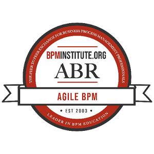Agile BPM Roles and Responsibilities Badge