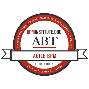 Agile Techniques for BPM Badge