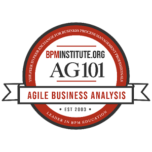 Agile Business Analysis 101 Badge