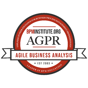 The Practice of Agile Business Analysis Badge