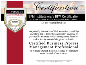 CBPMP Certification